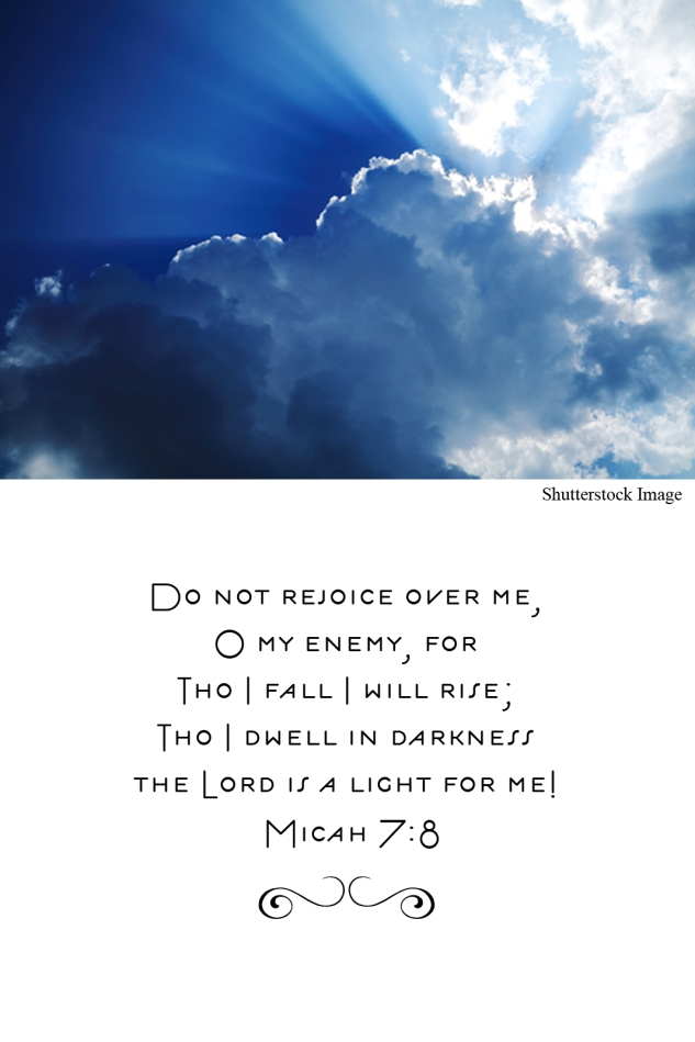 Tho I Fall I Will Rise