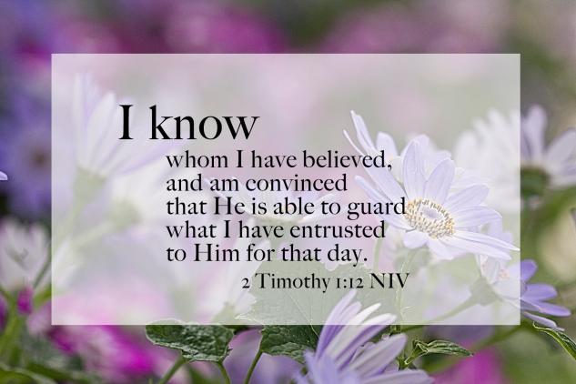 2 Timothy 1:2 NIV