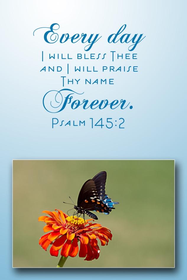 Psalm 145:2