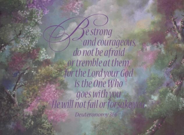Deut 31:6