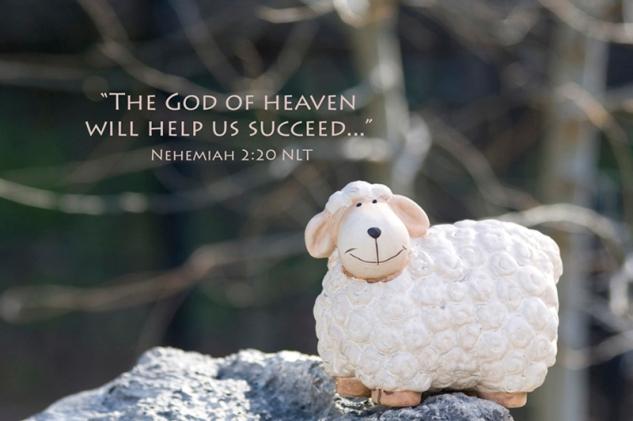 Nehemiah 2:20 NLT